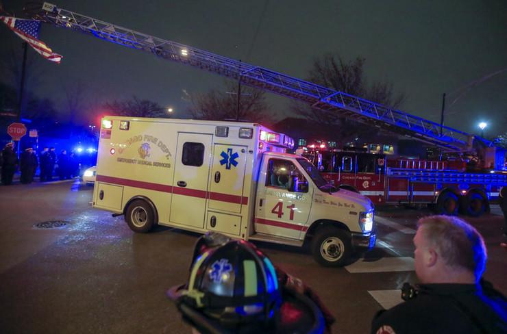 Čikago požar