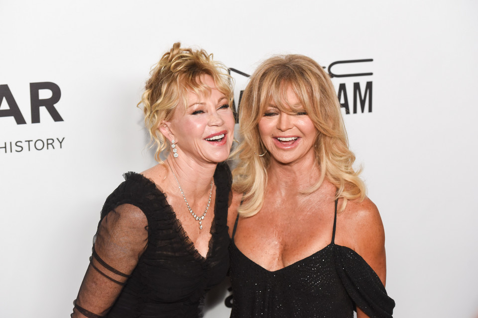 Melanie Griffith i Goldie Hawn (2017)