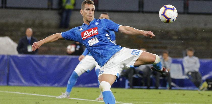 Napoli zagra z Genkiem w Lidze Mistrzów. Milik ma zadbać o fajerwerki