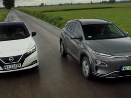 Hyundai Kona Electric kontra Nissan Leaf - przełączamy się na zielone!