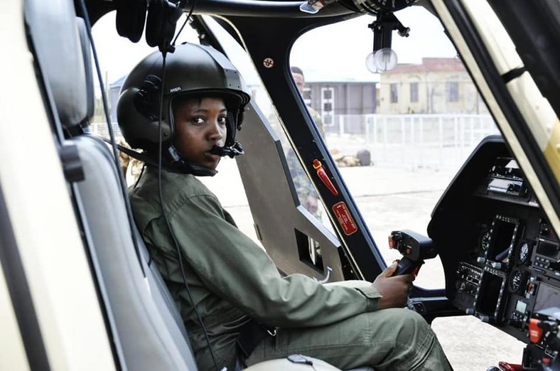Nigeria's first and only female combat Helicopter pilot, Tolulope Arotile died in a road accident. [heraldnigeria]