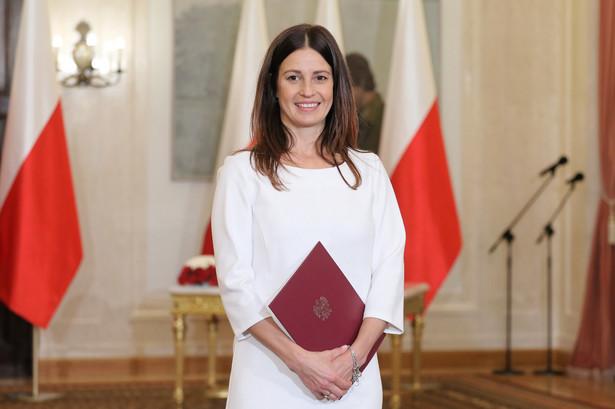 Danuta Dmowska-Andrzejuk w czwartek została powołana na urząd ministra sportu
