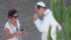 Jude Law jako papież na planie filmowym