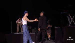 Wizkid and Justin Bieber (Twitter/Tidal)
