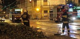 Tragiczny bilans burzy. 1 osoba nie żyje, dwoje dzieci rannych