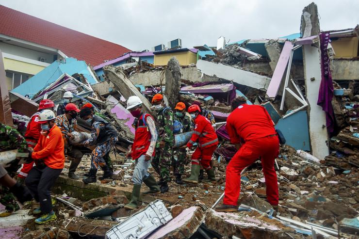 Zemljotres u Indoneziji - Mamuju