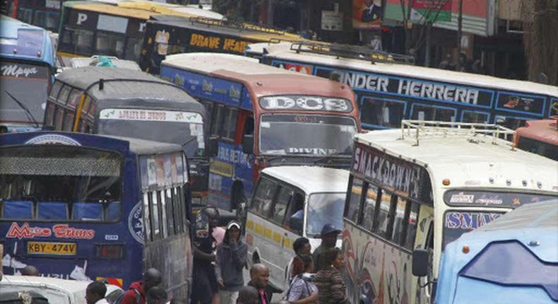 Matatu Association of Kenya announces go-slow in Nairobi over parking fees