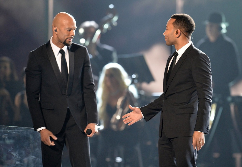 Common i John Legend na Grammy 2015