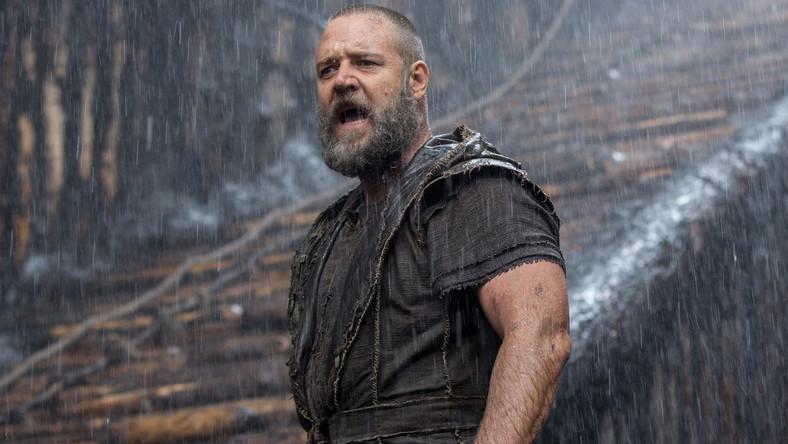 """W epickim dziele Darrena Aronofsky'ego o losach biblijnego Noego Crowe wcielił się w tytułowego bohatera. Jeszcze zanim film trafił do kin, zarówno na twórców, jak i aktorów, posypały się gromy ze strony, między innymi, """"obrońców religii"""""""