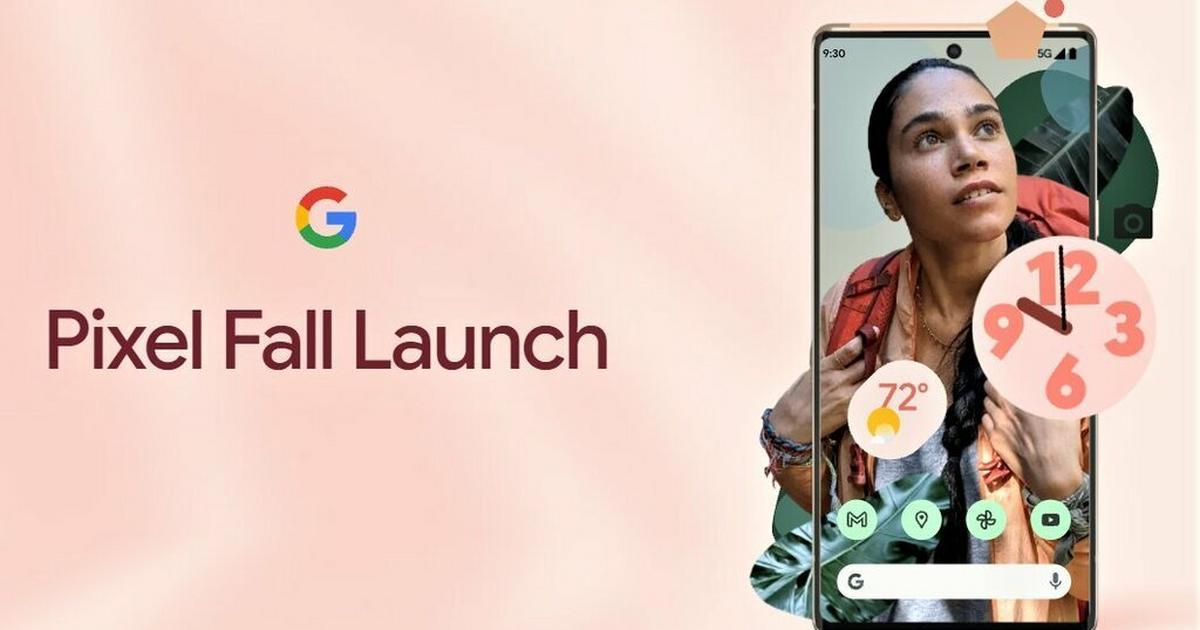 Google Pixel Event - gdzie oglądać premierę Pixel 6?