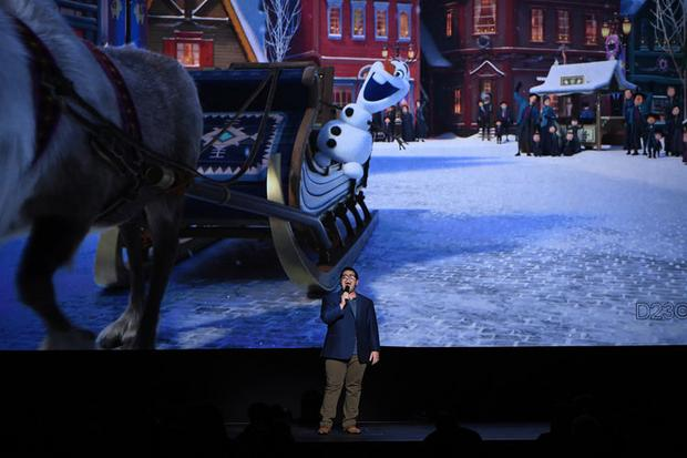 "D23 Expo - ""Olaf's Frozen Adventure"" (fot. Disney)"