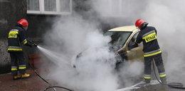 W Gdańsku spłonął samochód