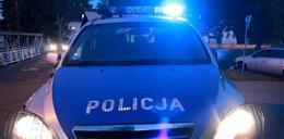 Policjanci uratowali mężczyznę ze złamaną nogą