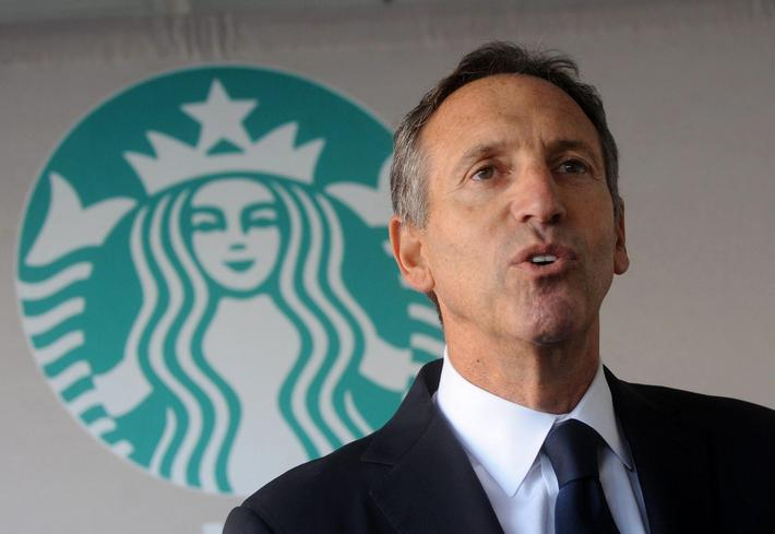 17. Howard Schultz?