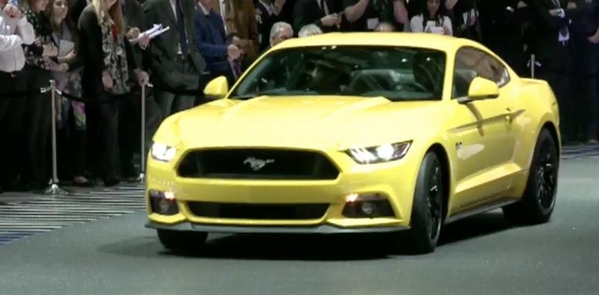 Mustang od tego roku dostępny w Europie