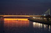 osvetljenje na mostu gazela