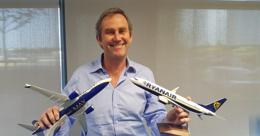 Mick Hickey pracował w Ryanairze przez 31 lat
