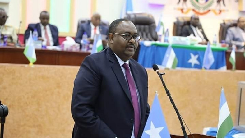 Puntland's new president, Mr Said Abdullahi Deni.