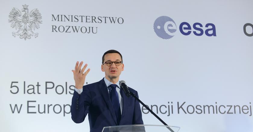 Mateusz Morawiecki chce rozwoju przemysłu kosmicznego w Polsce