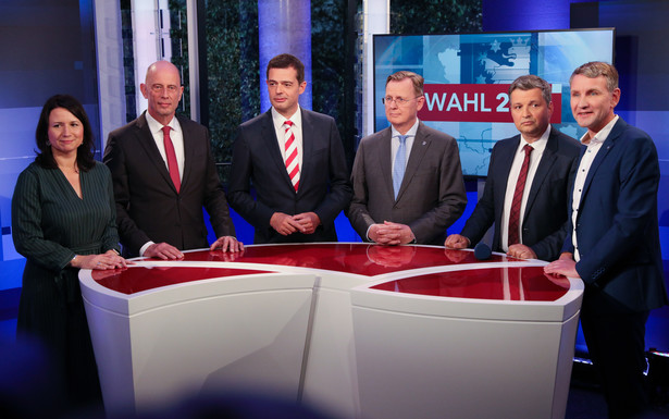 Postkomunistyczna partia Lewica wygrała niedzielne wybory landowe w Turyngii. CDU - z rozczarowującym poparciem - znalazła się na trzecim miejscu za narodowo-konserwatywną Alternatywą dla Niemiec (AfD).