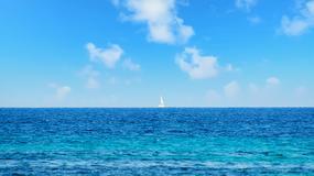 Czy łodzie mogą latać? Na zdjęciu uchwycono fatamorganę