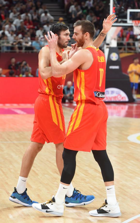 Košarkaši Španije prosavljaju svetsku titulu