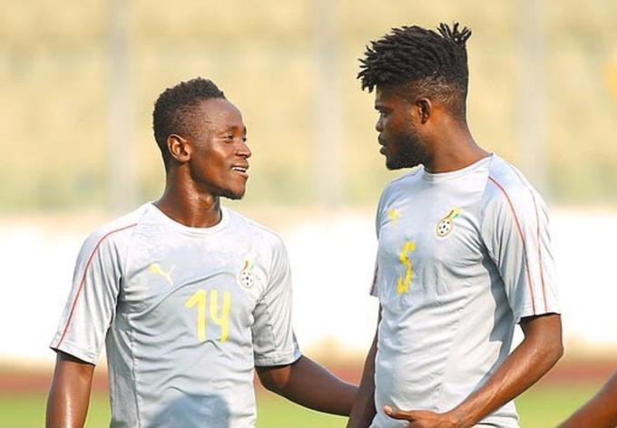 Emmanuel Boateng and Thomas Partey