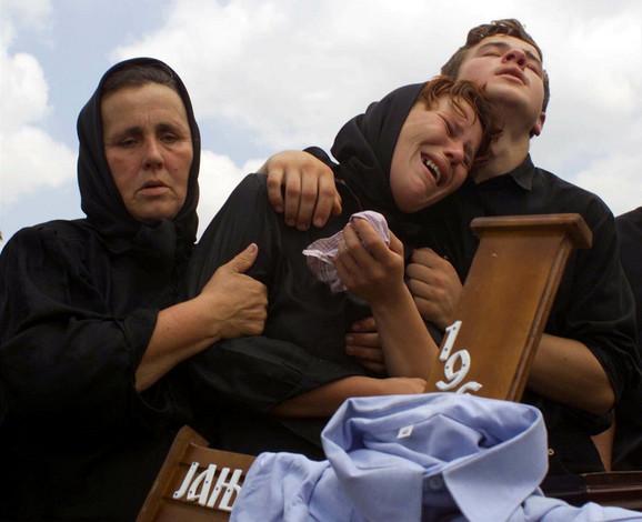 Staro Gracko posle masakra 1999. godine