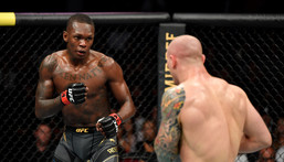 Israel Adesanya won all the rounds in a one-sided fight (Twitter/UFC)