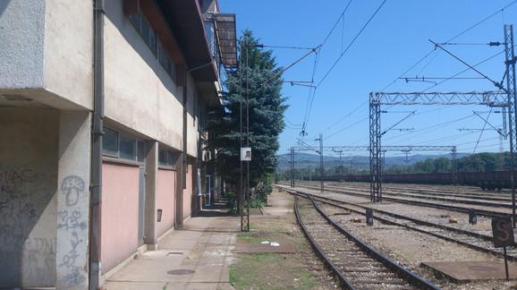 Stanica za teretne vozove u Popovcu kod Niša
