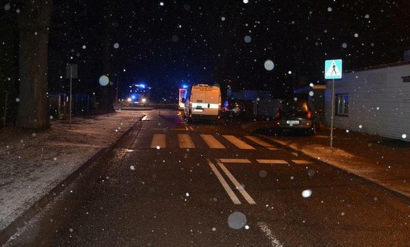 Tragiczny wypadek w Krośnie. Zginął 60-letni mężczyzna
