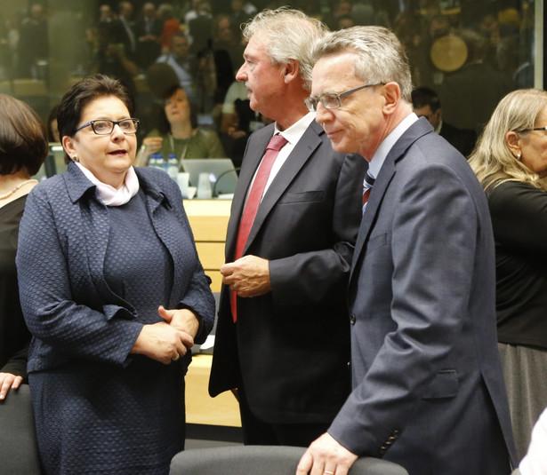 Teresa Piotrowska, EPA/OLIVIER HOSLET Dostawca: PAP/EPA.