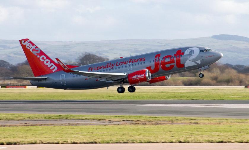 Tragedia podczas lotu z Manchesteru na Ibizę