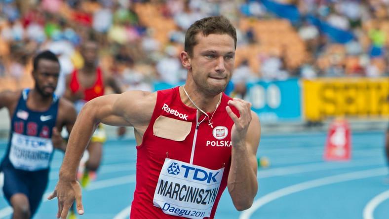 Marciniszyn nie pobiegnie w finale 400 m