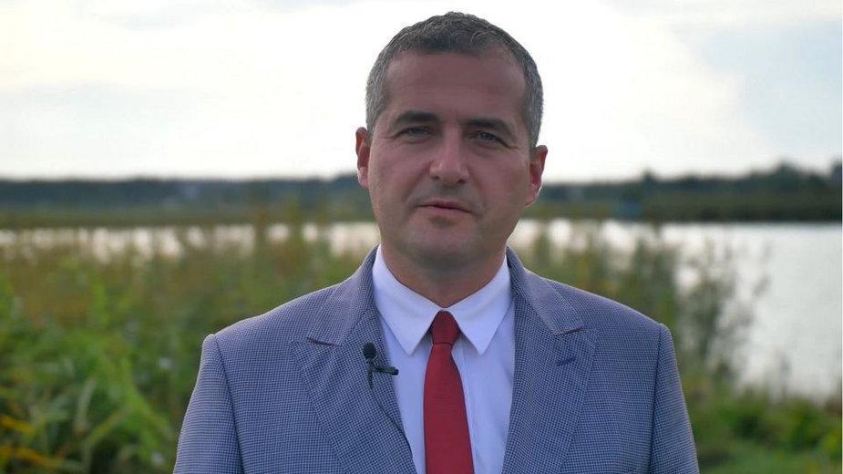 Hubert Pasiak, nowy wójt gminy Zbuczyn