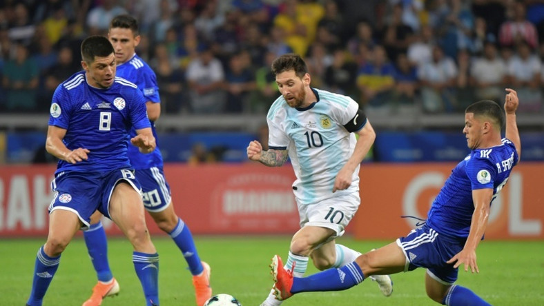 Lionel Messi salvaged a 1-1 draw for Argentina with a penalty against Paraguay in the Copa America