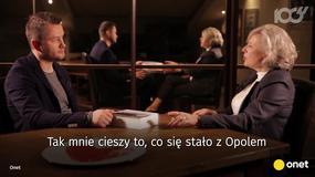 Krystyna Janda: cieszy mnie to, co się stało z Opolem. Zapowiedź wywiadu