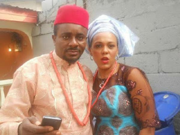 Emeka Ike and wife Suzanne Rero Ike
