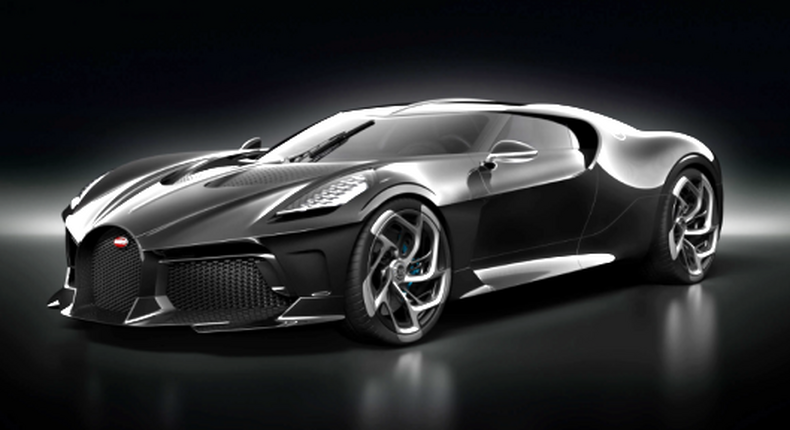 5 interesting facts about the most expensive new car ever built, the Bugatti La Voiture Noire