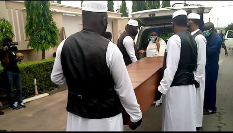 The late ex-governor was buried on Sunday, June 28, 2020, at his residence in Ibadan. (Premium Times)