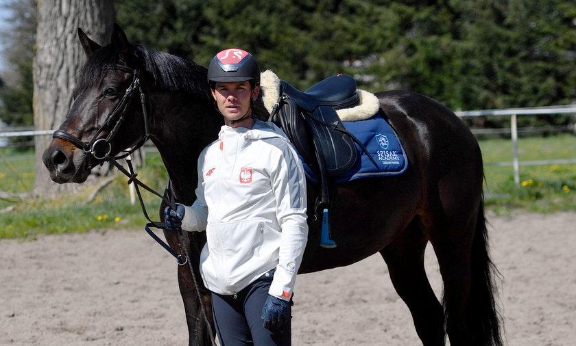 Paweł Spisak nie ma wątpliwości. Nie zaryzykowałby zdrowia konia dla występu w igrzyskach