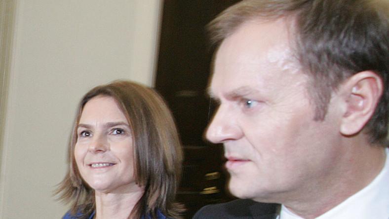 Żona Tuska zdradza: Mąż jest uzależniony