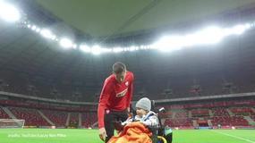 Lewandowski spełnił marzenie małego Franka