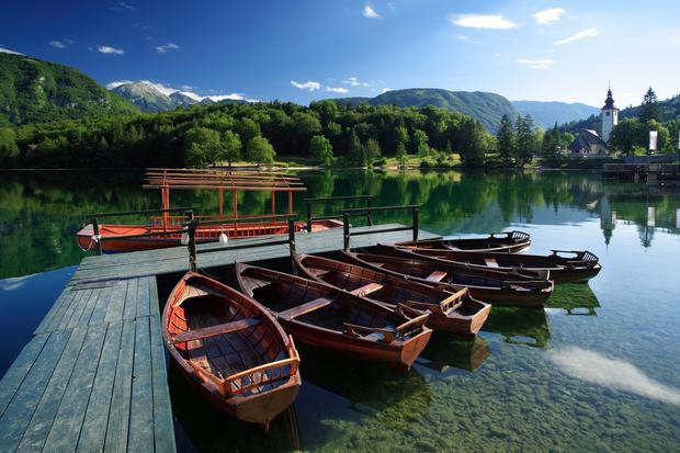 Jezioro Bohinj, Słowenia