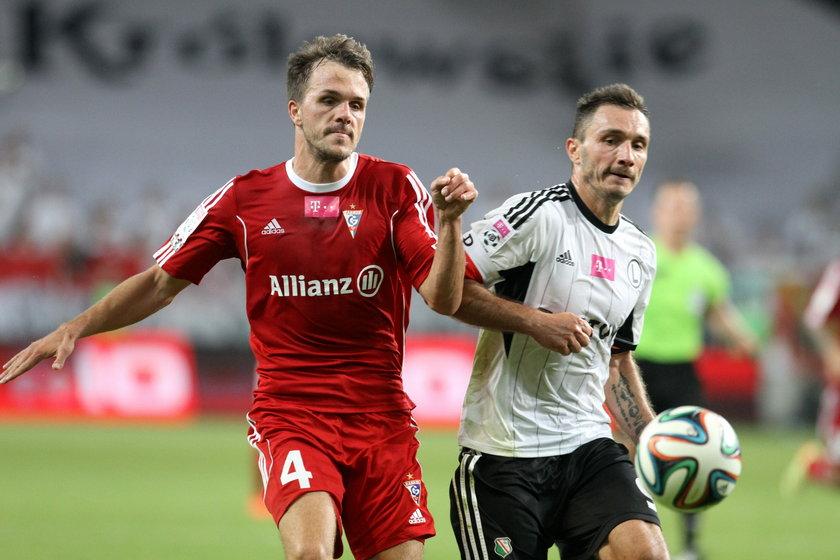 Marek Saganowski rozegrał setny mecz w barwach Legii w lidze