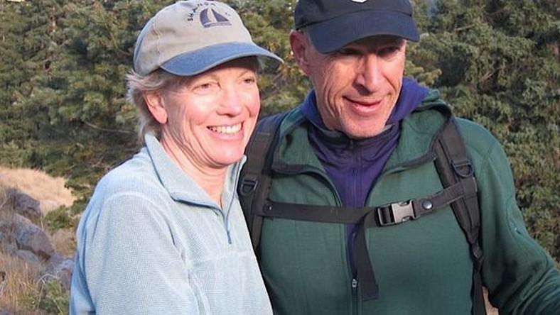 Tom Taplin z żoną Corey Freyer na zdjęciu z Facebooka