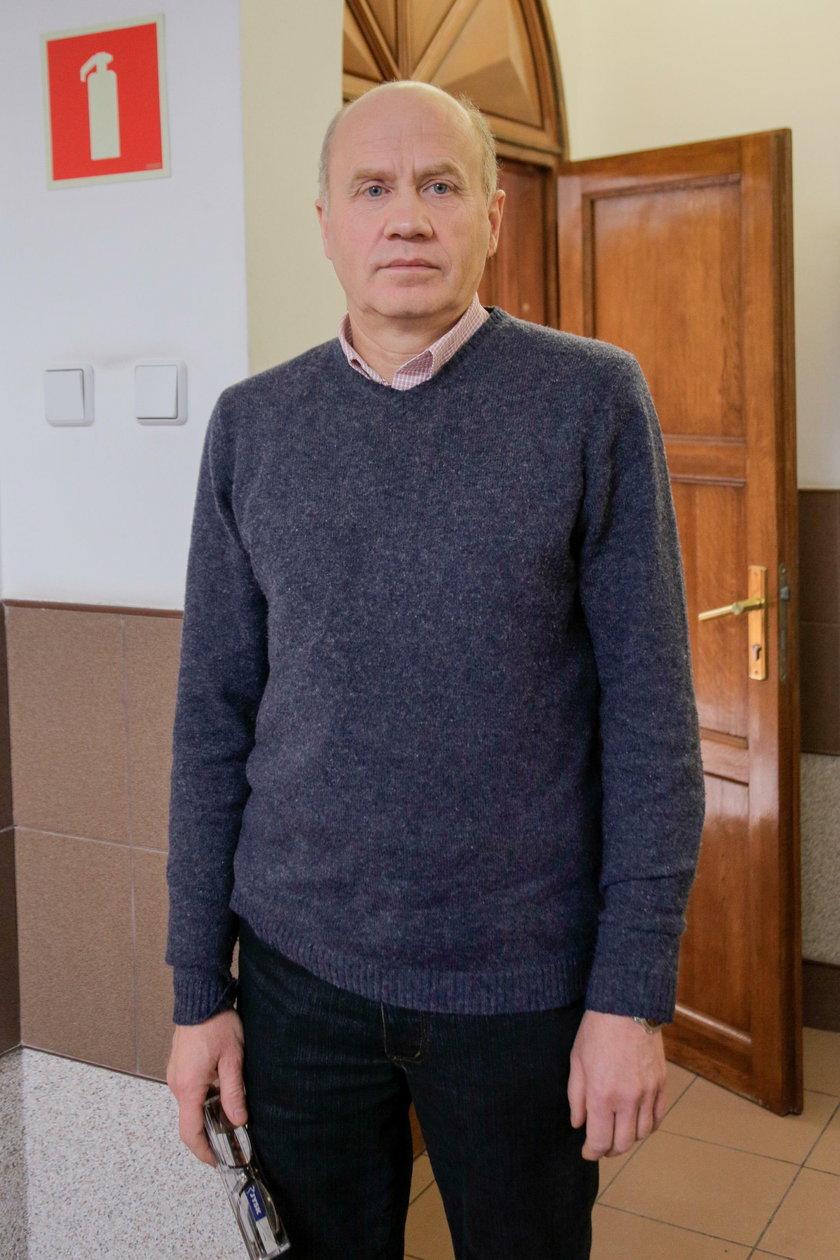 Wiesław Gniewek (56 l.), były nauczyciel informatyki