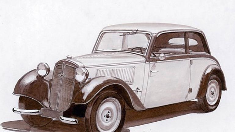 DKW F7 1937 rok Niemcy