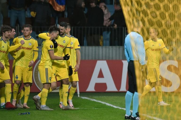 BATE will take a 1-0 lead to Arsenal for next Thursday's second leg