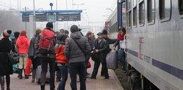 Zmiany w rozkładzie jazdy pociągow